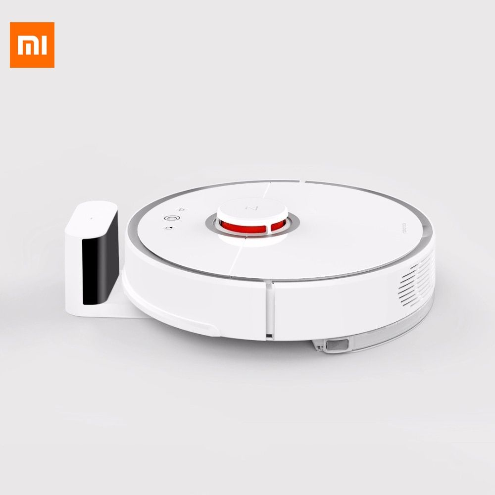 Original Xiaomi Mi Vacuum Cleaning Robot 2 Mop Sweep Laser Path Planning Smartphone Control Vacuum Cleaner Robot For Smart Home