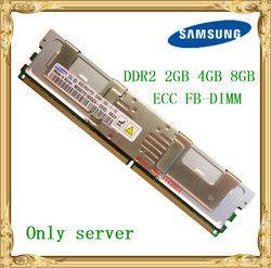 Samsung Server memory DDR2 2GB 4GB 8GB 667MHz PC2-5300F ECC FBD FB-DIMM Fully Buffered RAM 240pin 5300