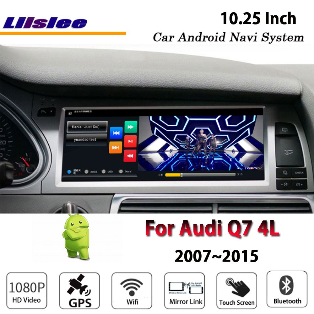 Liislee Car Android 2G RAM 32ROM For Audi Q7 4L 2007~2015 Original style Radio Carplay GPS Navi Map Navigation System Multimedia
