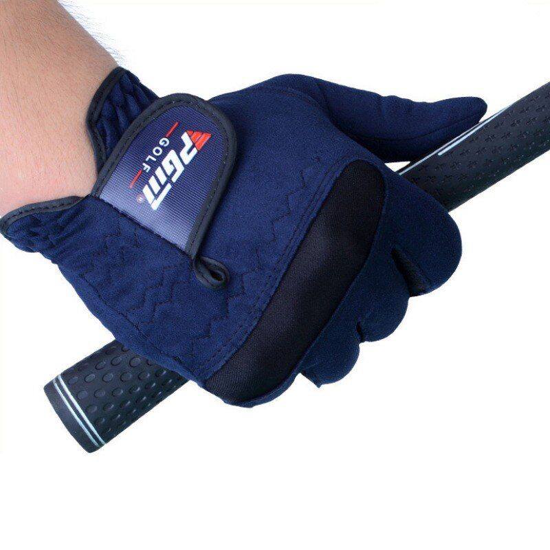 Männer Golf Handschuhe Rechts und Links Hand Schweiß Absorbierendes Mikrofaser Tuch Weichen Atmungsaktiv Abrieb Handschuhe