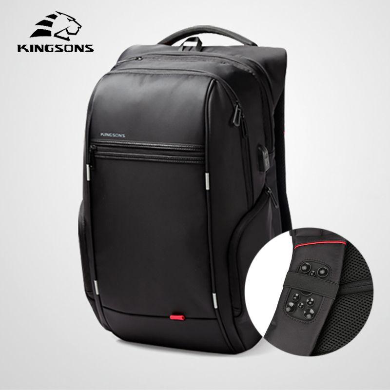 Kingsons 2018 Multifunction Business Backpack Male Best Travel Anti thief Laptop Work New Men Backpack Mochila Bagpack