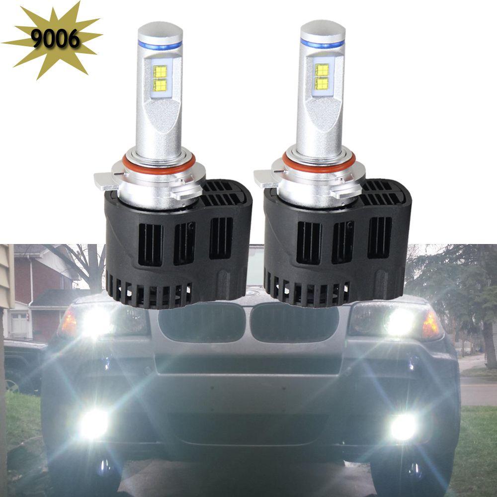 P6 LED Car Headlight LED Canbus 55W 5200LM 6000K 5202 H7 9007 9006 9004 H15 Headlight Conversion Kit