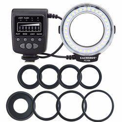 Meike FC-100 para Nikon, canon FC 100 macro anillo flash/luz para Nikon D7100 D7000 D5200 D5100 D5000 D3200 D310