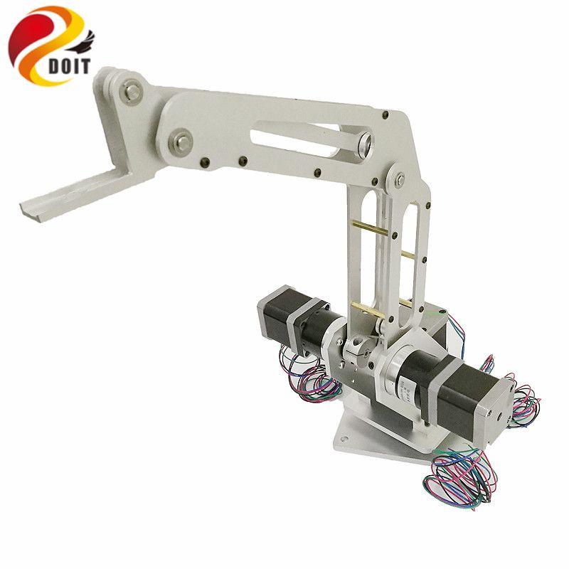 DOIT 3dof Industrie Robotic arm Manipulator Roboter Arm 3 Achsen mit Voll Metall Rahmen für Schreiben, Laser gravur, 3D Drucker