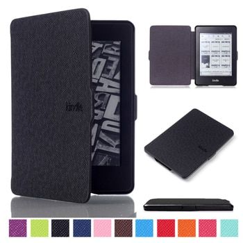 For Amazon Kindle Paperwhite Case 123 Smart Cover, VTRONHYE Auto Sleep Wake up eReader Case for Kindle Paperwhite Capa+Film+Pen