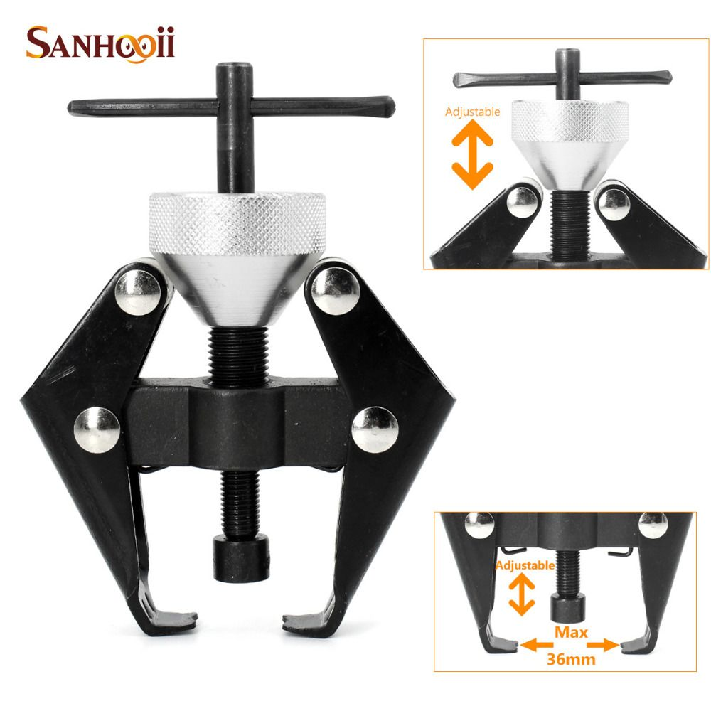 SANHOOII Car Auto (Wiper Arm & Battery Terminal Bearing) Remover Puller Clamp Extractor Repair Tool 6-36MM Opening Nut