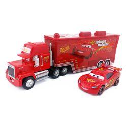 Disney Pixar Cars Mack Foudre McQueen et Poussin Hicks et Roi et fabuleux Hudson Camion Jouet Voiture 1:55 Lâche Nouveau et Livraison gratuite