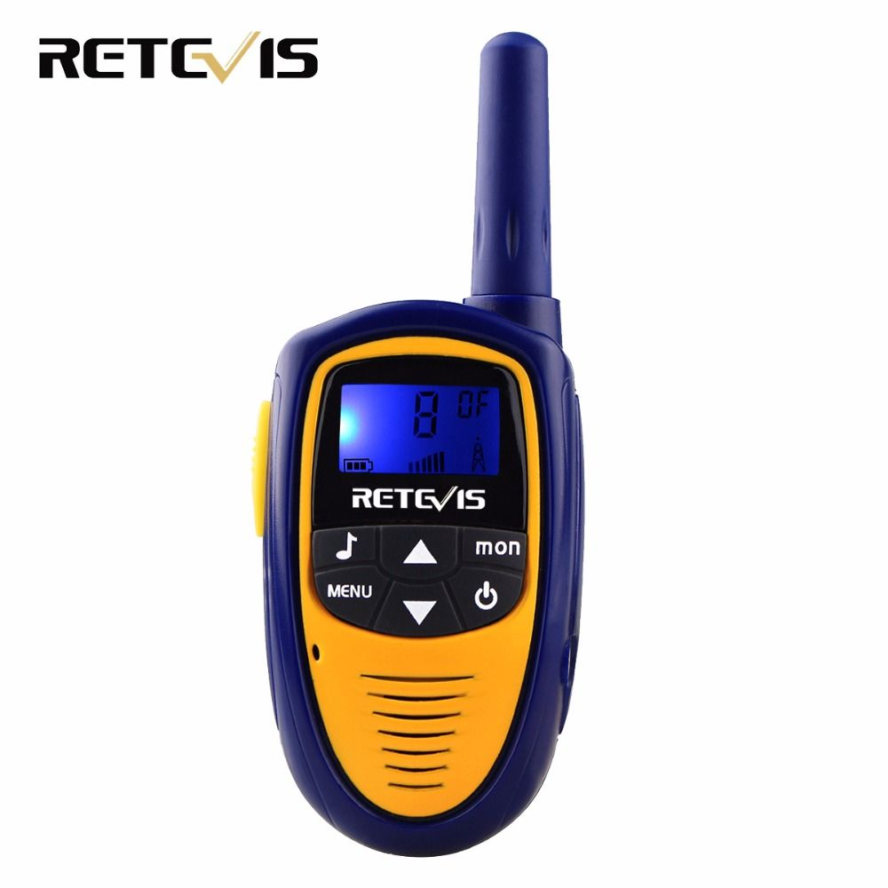 1pcs Mini Walkie Talkie Kids Radio Retevis RT31 0.5W UHF Frequency Portable Vox Ham Radio Hf Transceiver Christmas Gift J9112