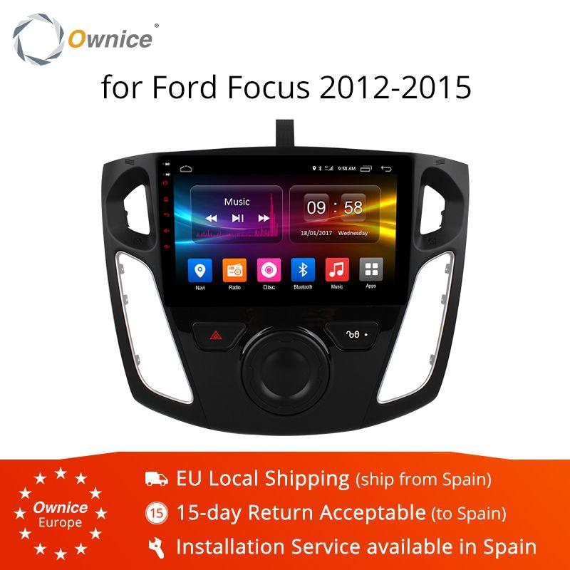 Ownice K1 K2 K3 Android 9.0 Auto-radio-player GPS Für ford focus 3 2012 2013 2014 2015 Octa Core 2 GB RAM 16 GB ROM Unterstützung DVD 4G