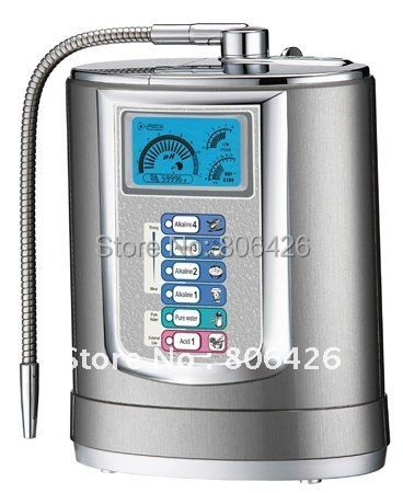 5 Plates Titanium Super Alkali Water ionizer(Japan Technology,Taiwan manufacturer) +built-in NSF filter+pH/ORP live show