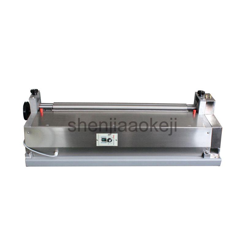 120W Stainless steel glue machine JS-500A paper board gluing machine leather gluing machine sample book shell glue machine 220V