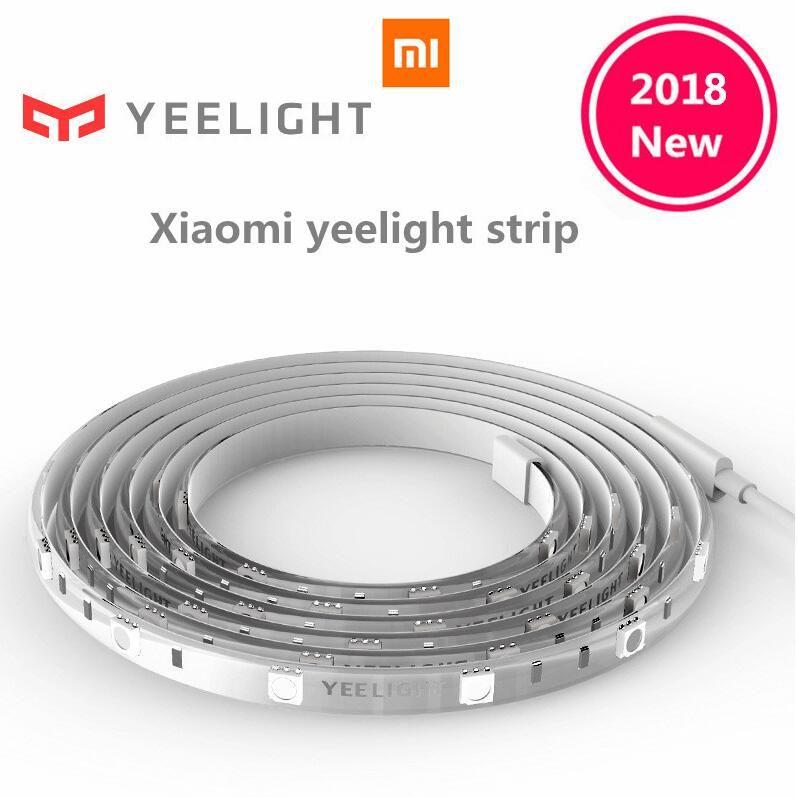 Original Xiaomi Yeelight RGB Intelligent light band Smart home Phone App wifi light strip Colorful lamb LED 2M 16 Million 60 Led