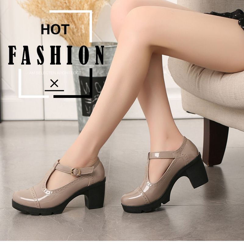 2019 Fashion Women Shoes Female High Heels Casual Shoes Mujer Office Party Banquet Chaussures Femme