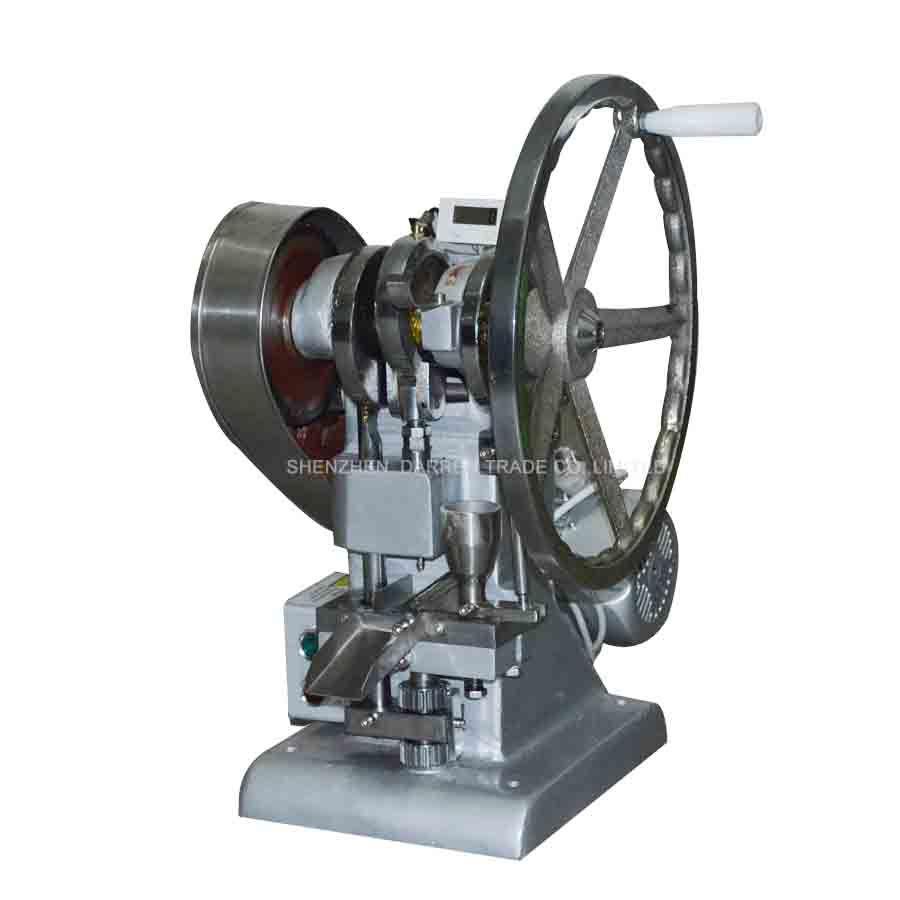Single punch tablet press machine TDP-1.5 pill press machine / pill making / TABLET PRESSING, pill making