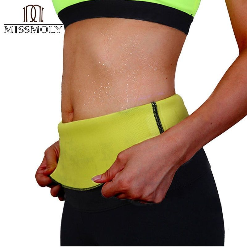 Miss Moly Super hot shapers control Underbust Belt women stretch neoprene shirt sweat slimming body Waist Trainer shaper S-3XL