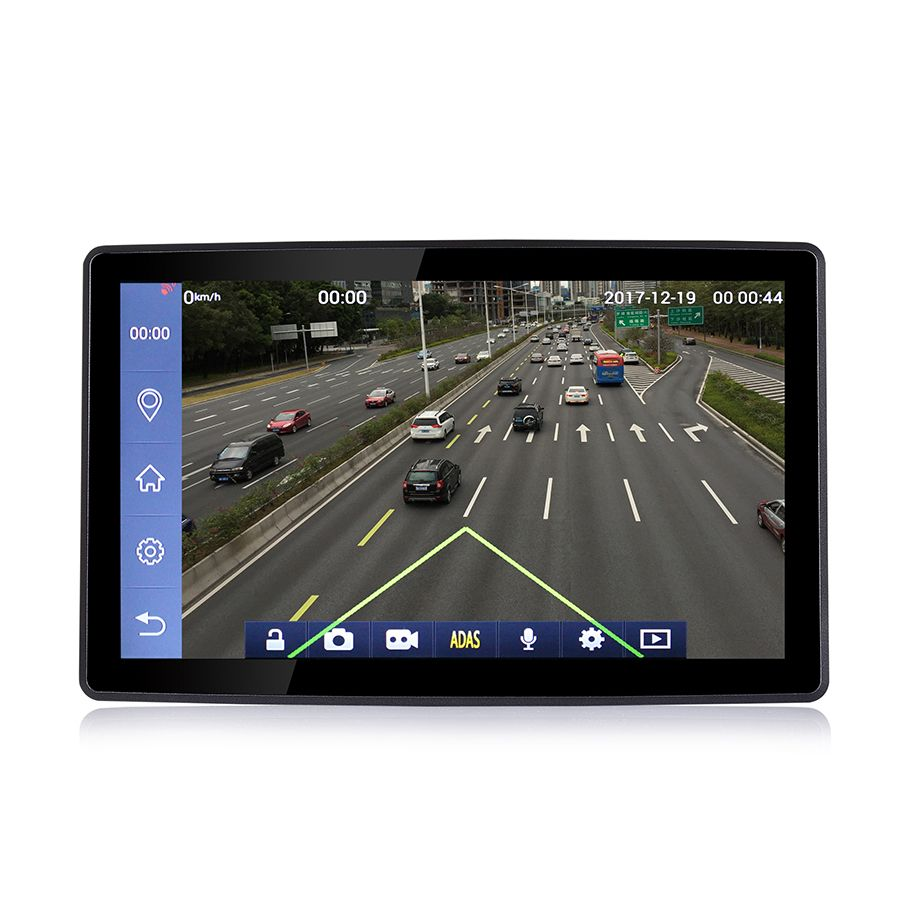 Udricare 9 zoll Android Auto Lkw Bus Bluetooth Telefon WiFi GPS Navigation 16 gb Full HD 1080 p ADAS LDWS DVR Video Recorder GPS
