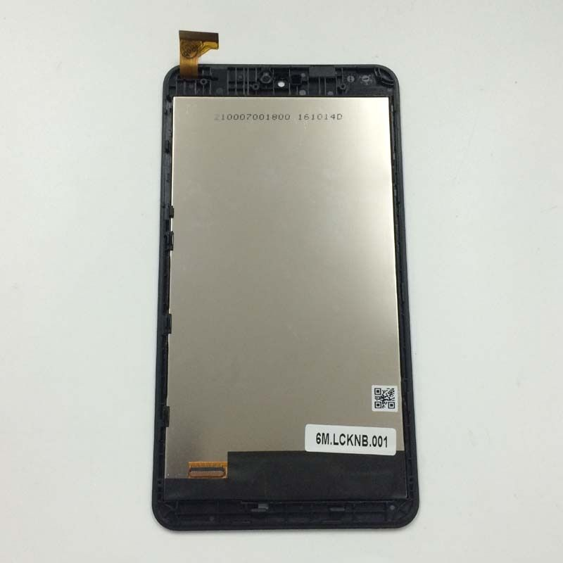 Black For Acer Iconia one B1-780 Full Touch Screen Digitizer Sensor Glass Lens + LCD Display Panel Monitor Assembly with Frame