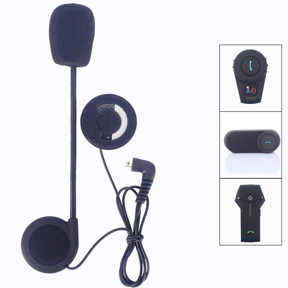 Helmet Intercom mini usd Earphone Microphone Motorcycle Helmet BT Intercom T-COM-02 FDCVB T-COMVB TCOM-SC COLO KIE Accessories