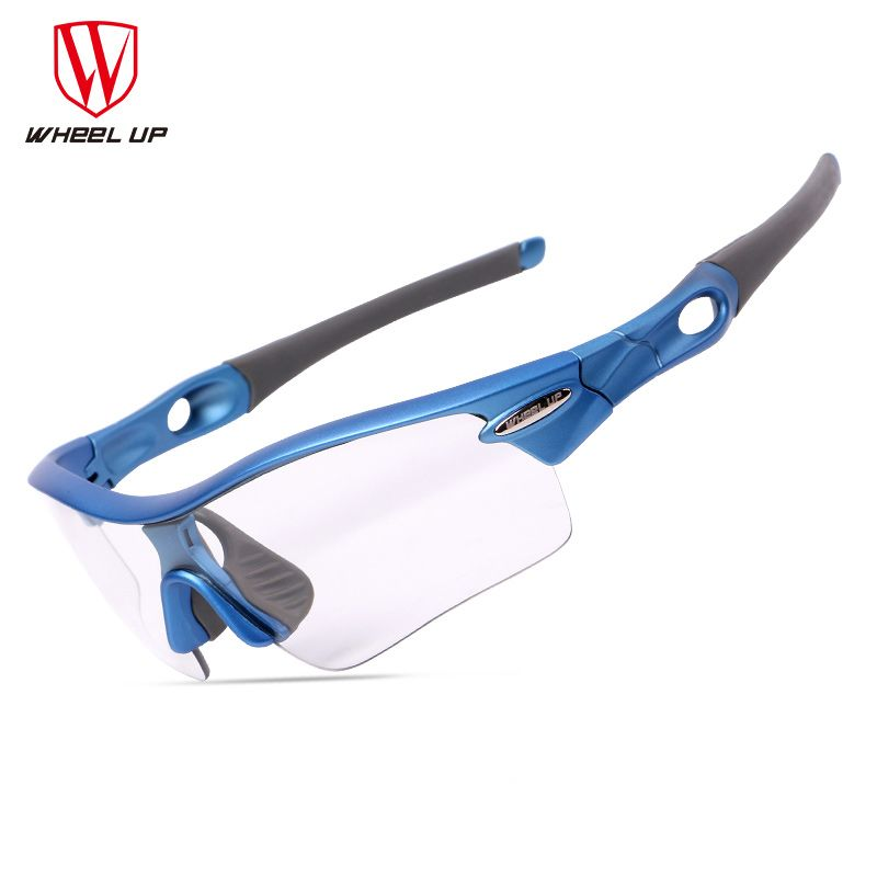 Photochromic Cycling Sunglasses 3 Lenses Sand-proof Polarized Ciclismo Bicycle Goggles Women Men Riding Bike Glasses