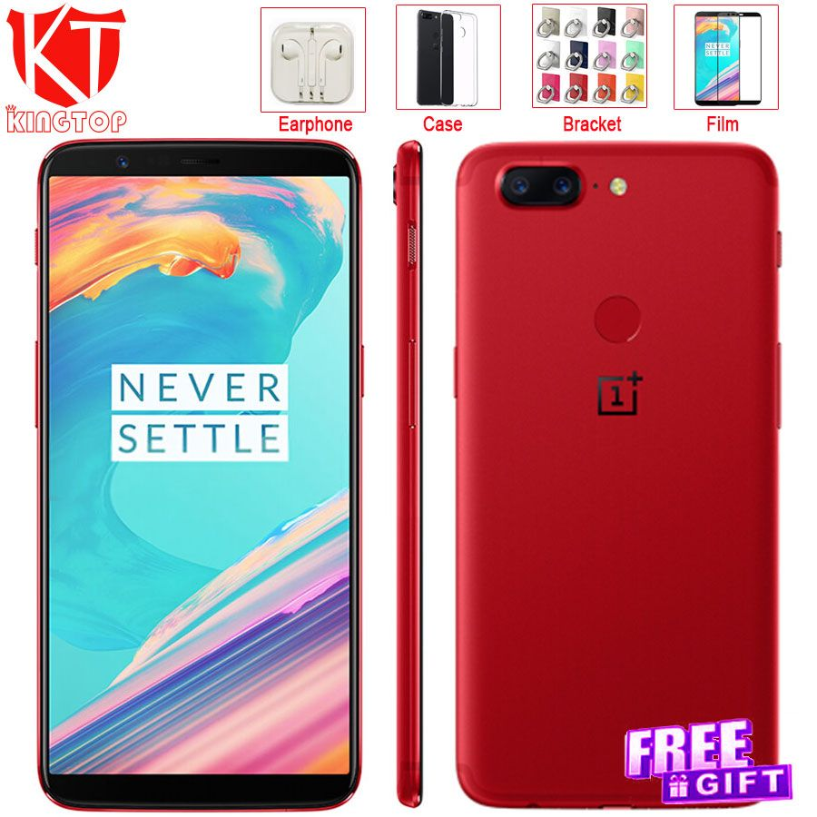 NEW Original Oneplus 5T Mobile Phone Snapdragon 835 Octa Core 8GB 128GB 6.01