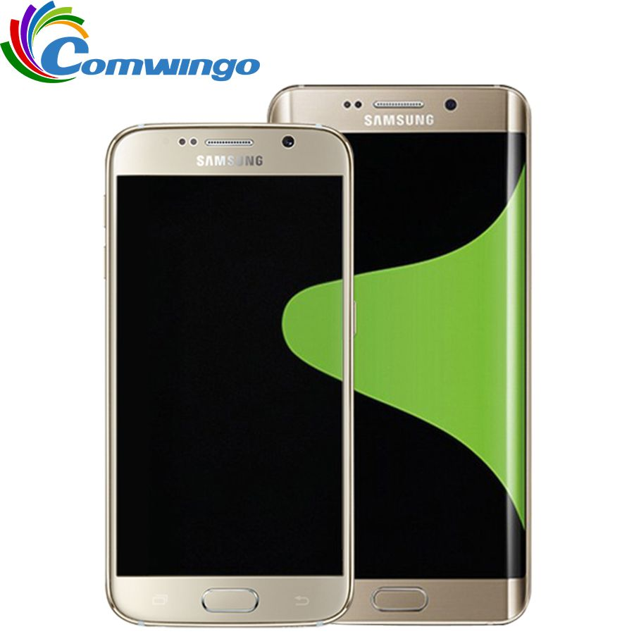 Original Samsung Galaxy S6 G920F G920V G920A Mobile Phone Octa Core 3GB RAM 32GB ROM LTE 16MP 5.1