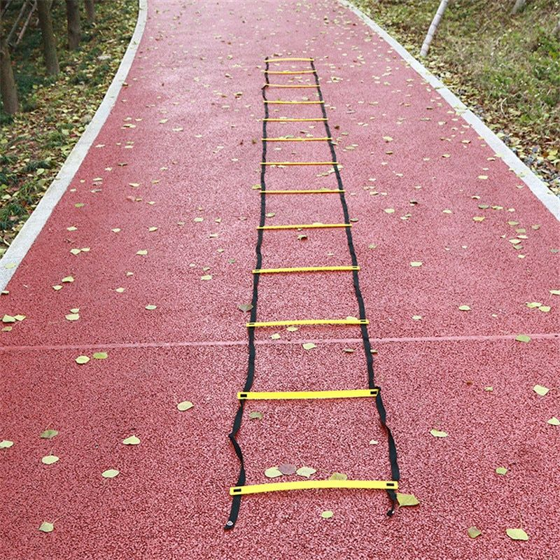 LumiParty 7m 13pcs Ladder for football soccer training speed Agility Ladder Fitness Feet Training Soccer training equipment