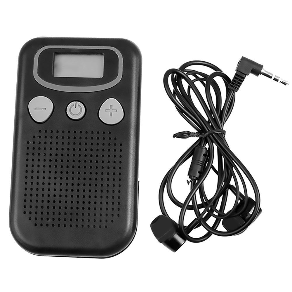 Amplificateur sonore personnel de TV de prothèses auditives d'affichage pour les personnes âgées/perte d'audition mégaphone d'audition faisceau atomique magique de haute qualité