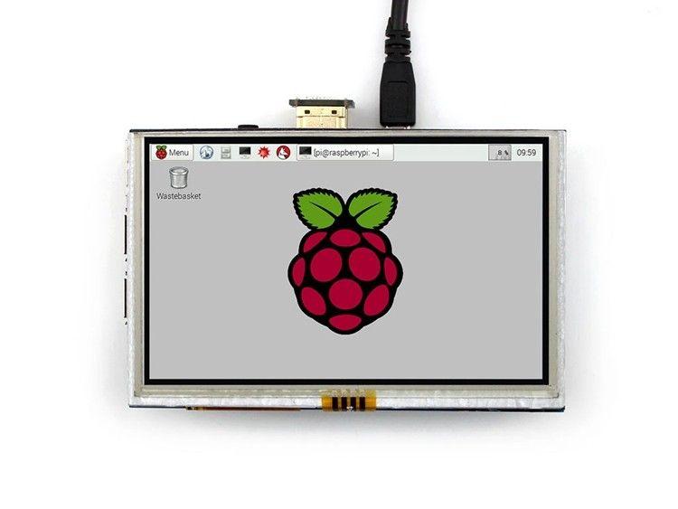 5 pouces 800x480 écran tactile LCD 5