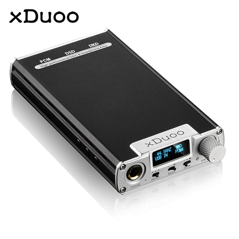 Original XDUOO XD 05 Portable Audio DAC Headphone Amplifier HD ILED Display Professional PC USB Decoding Amplifier
