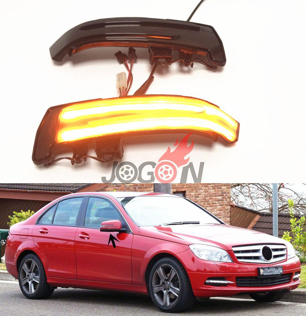 LED Dynamische Blinker Anzeige Blinker Licht Für Mercedes Benz A B C E S CLA GLA CLS Klasse W176 w204 W212 X156 X204 W221