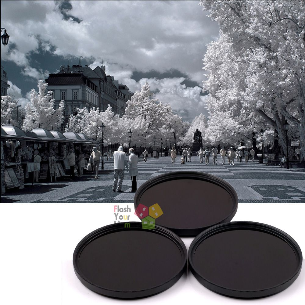 49mm 720nm+850nm+1000nm Infrared IR Optical Grade Filter for Camera Lenses