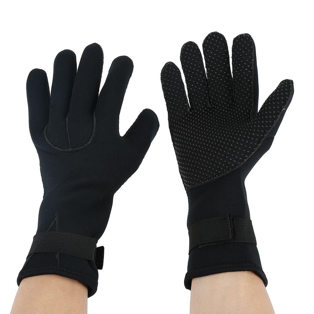3MM Neoprene Swimming Diving Scuba Snorkeling Surfing Spearfishing Water Sport Gloves Winter Swimming Warm Mittens