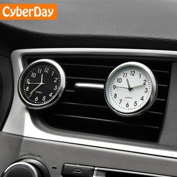Автомобиль орнамент автомобилей Интерьер красивые часы авто часы автомобильные клапаны клип освежитель воздуха часы Подарки для автомоби...