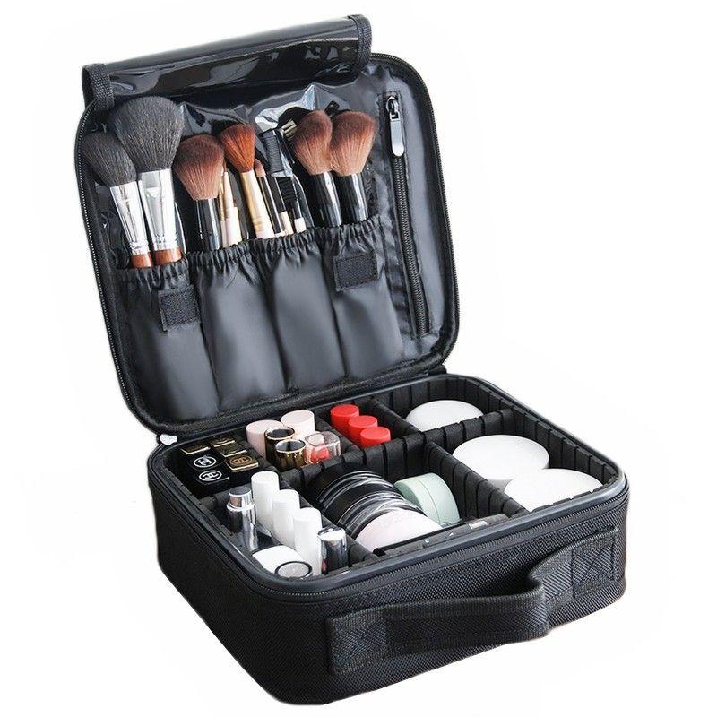 LHLYSGS marque sac cosmétique femmes organisateur de beauté professionnel étui cosmétique voyage nécessaire étanche stockage sac de maquillage