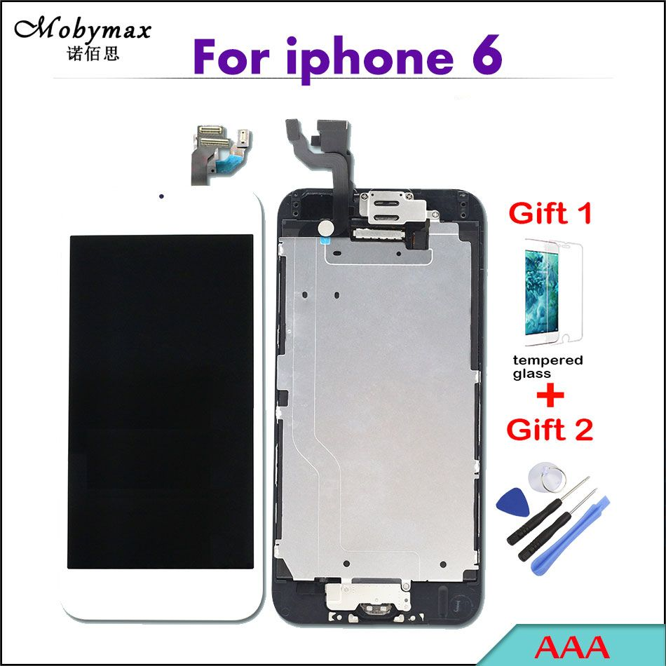 Mobymax Pantalla For iPhone 6 A1586 A1549 4.7