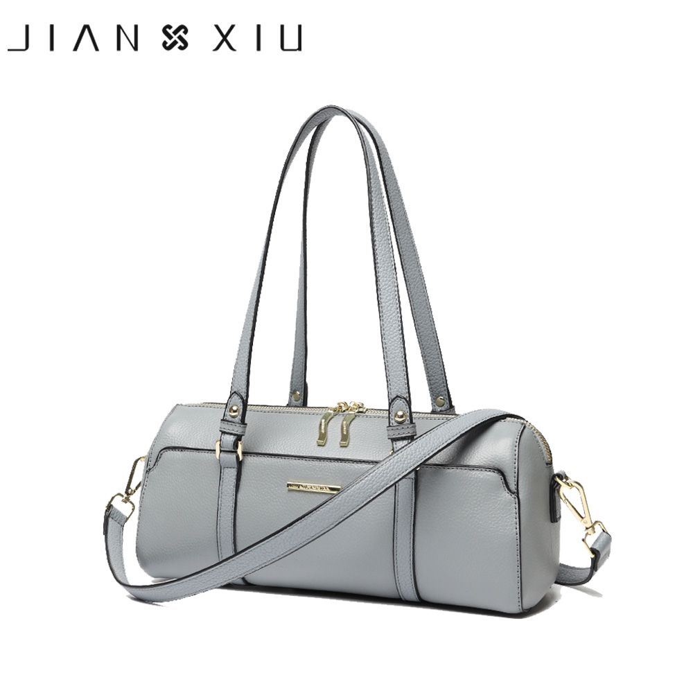 JIANXIU Brand Genuine Leather Handbag Luxury Handbags Women Bags Designer Fashion Messenger Bags Small Shoulder Bag Two Colors