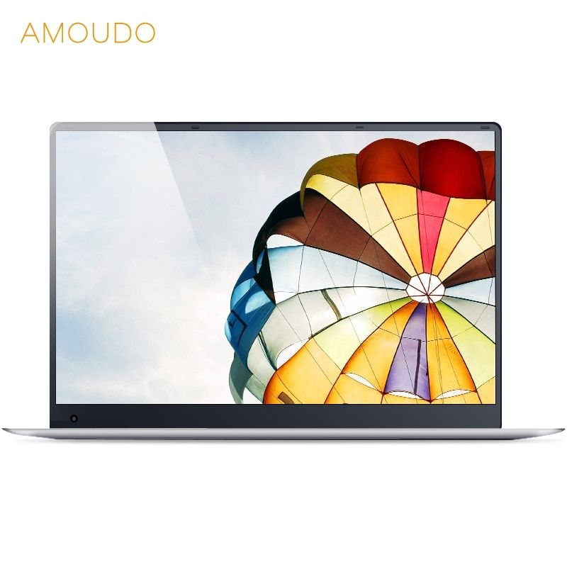 15.6inch 4GB Ram <font><b>64GB</b></font> eMMC Windows 10 System 1920X1080P FHD IPS Screen Intel Atom Z8350 Quad Core Laptop Notebook Computer
