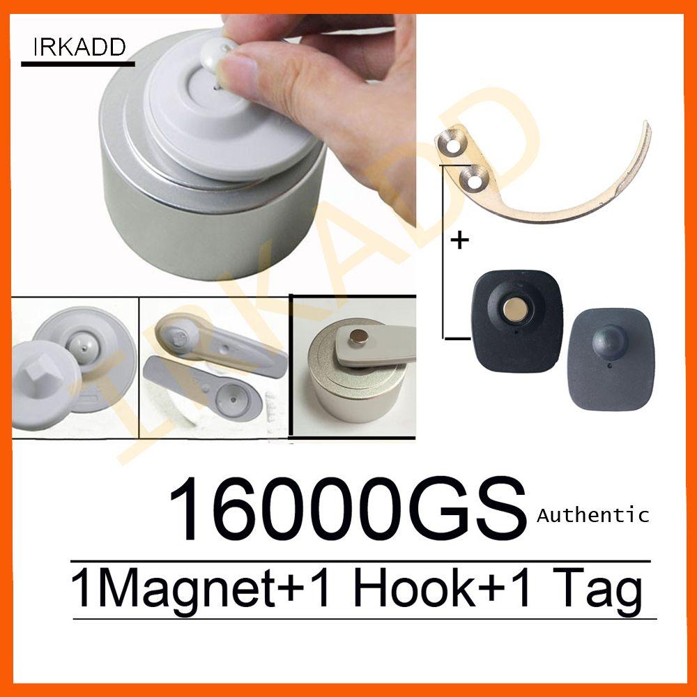 Original 16000GS universal detacheur eas sicherheit tag remover1pcs + super sicherheit tag detacheur hook1pcs fabrik verkauf freies verschiffen