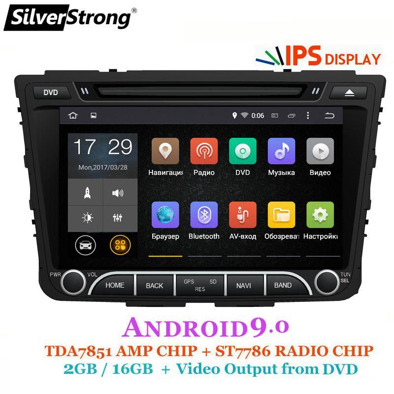 SilverStrong IPS Android9.0-8,0 Auto DVD Für Hyundai Creta IX25 2014-18 2DIN DVD Radio Navigation option 2G16G /DSP/TPMS/DVR