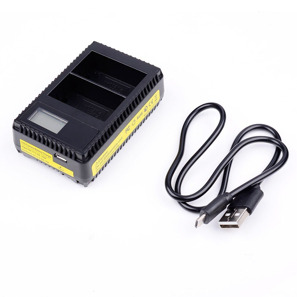 USB LCD Dispaly Dual Slot Quick Digital Battery Charger for Sony NPF550 F570 NP-F550 NP-F570 FM500H FM50 Battery