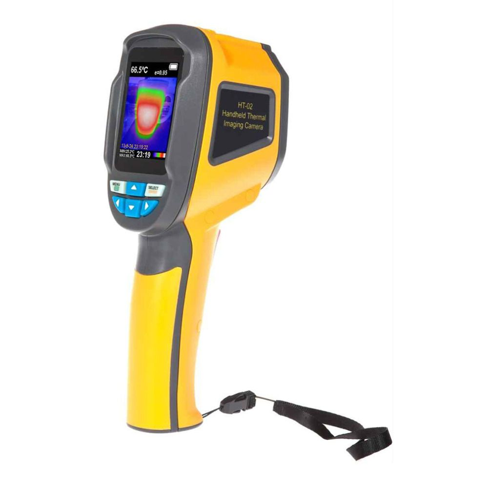 HT-02/HT-175 Precision Thermal Imaging Handheld Infrared Camera Thermometer -20 to 300 Degree with High Resolution Color Screen