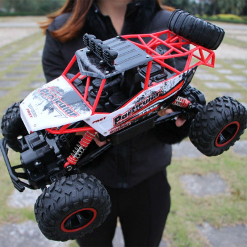 RC Car 1/12 4WD Rock Crawlers 4x4 Driving Car Double Motors Drive Bigfoot Car Remote Control Car <font><b>Model</b></font> Off-Road Vehicle Toy