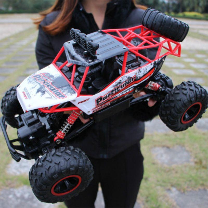 RC Car 1/12 4WD Rock Crawlers 4x4 Driving Car Double Motors Drive Bigfoot Car Remote Control Car Model Off-Road Vehicle Toy