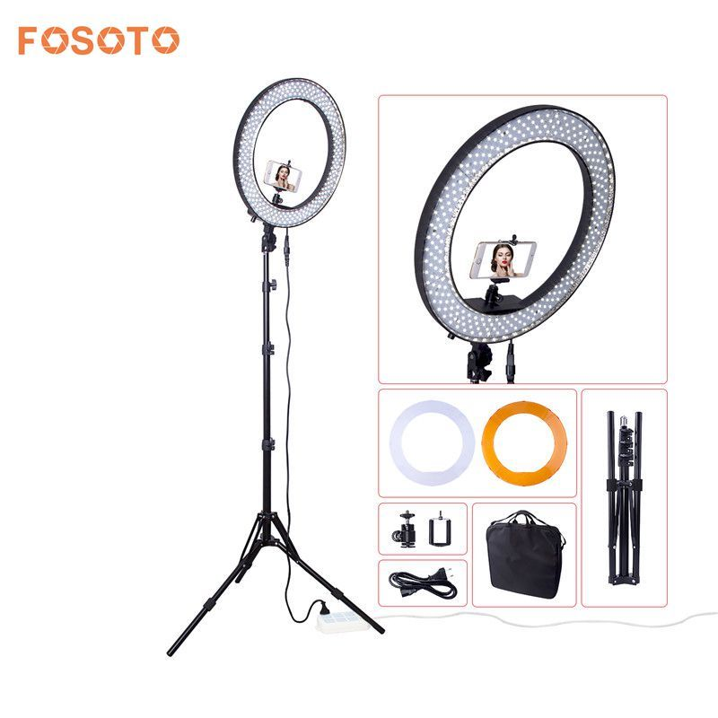 fosoto Newest RL188 DSLR Camera Photo Studio Phone Video 18