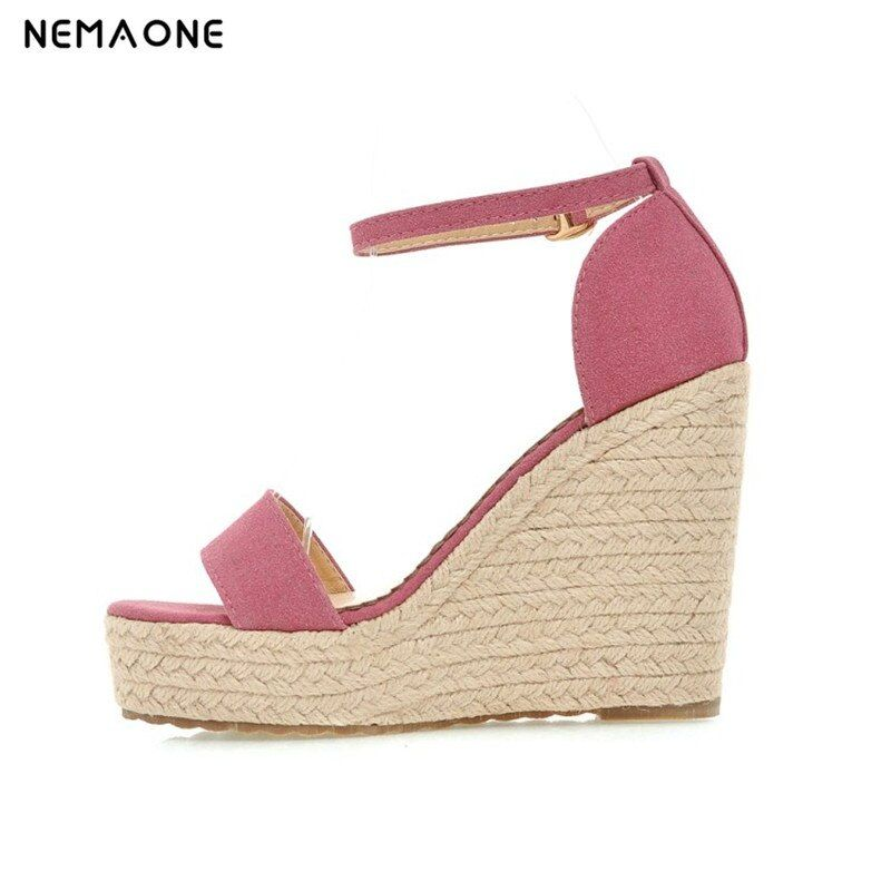 NEMAONE New 2017 Women Sandals Summer Style Shoes Woman Platform Sandals Women Casual Open Toe Wedges Sandals Women Shoes