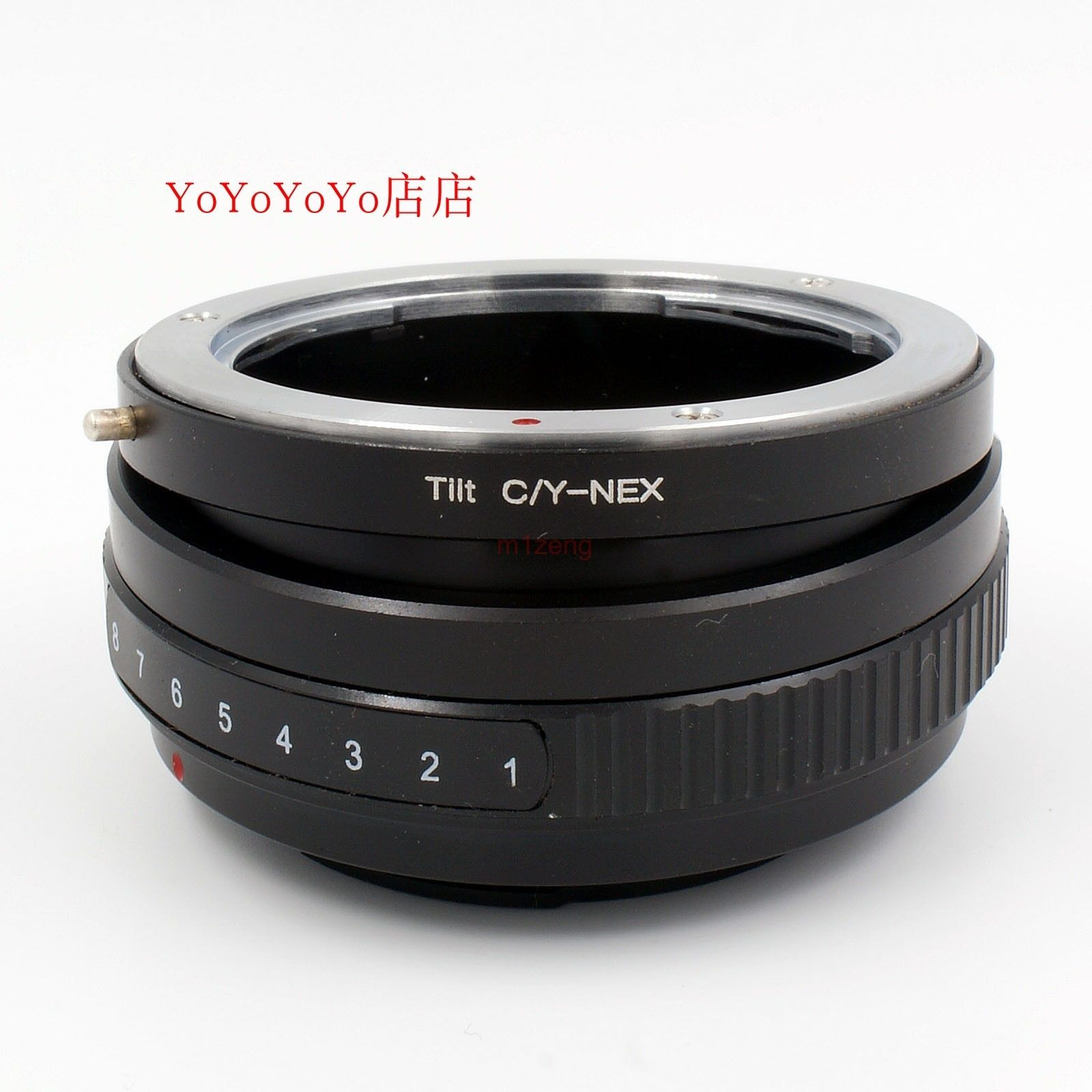 Cy c/y Contax Yashica objektiv zu E mount nex tilt adapter ring für NEX-3/5/6 /7 A7 A7II A7r A5100 A7s A6500 A5000 A6000 kamera