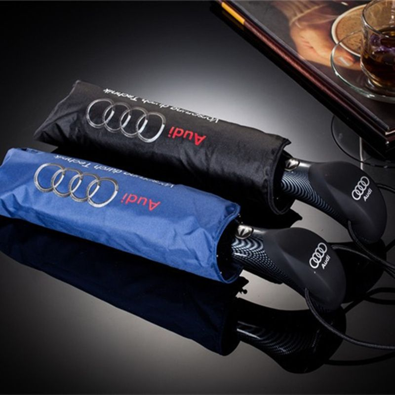 Fashion Big Umbrellas Business for Man Audi Parasol Automatic Umbrella Male Paraguas Folding Umbrella Rain Women Sunshade