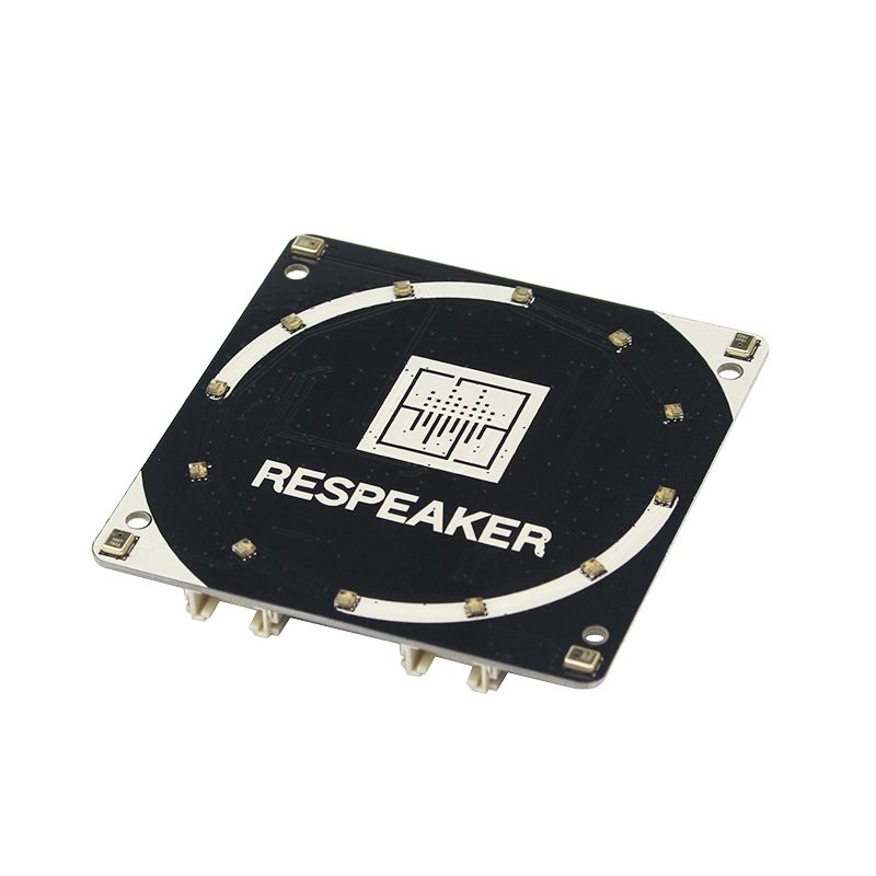 Für ReSpeaker 4-Mic Array für Raspberry Pi 4B/3B + | 4 Mikrofone Array für AI Stimme Anwendungen Quad -mikrofon Expansion Board