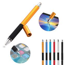 2 en 1 Multifonction Fine Point Rond Pointe Fine Écran Tactile stylo Capacitif Stylet Pour Téléphone Intelligent Tablet Pour iPad Pour iPhone