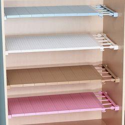 Регулируемый шкаф, органайзер для хранения полка настенная кухонная стойка шкаф для экономии пространства декоративные полки для шкафа Де...
